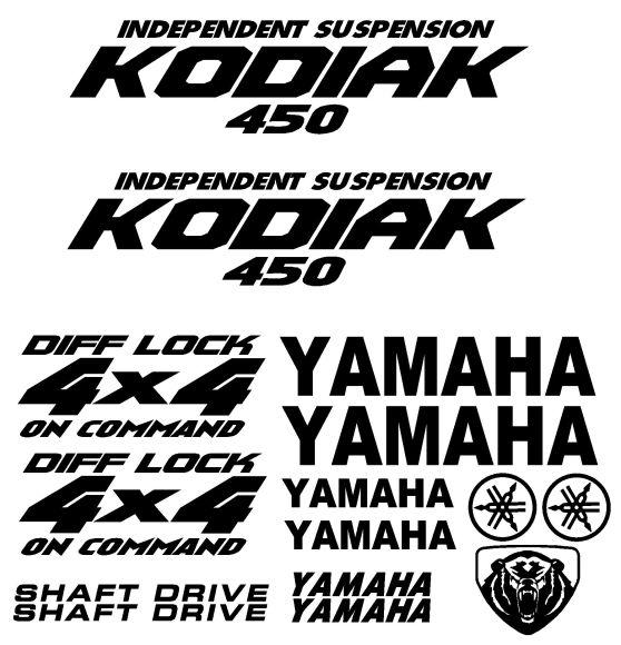 Yamaha Kodiak Plastic Kits