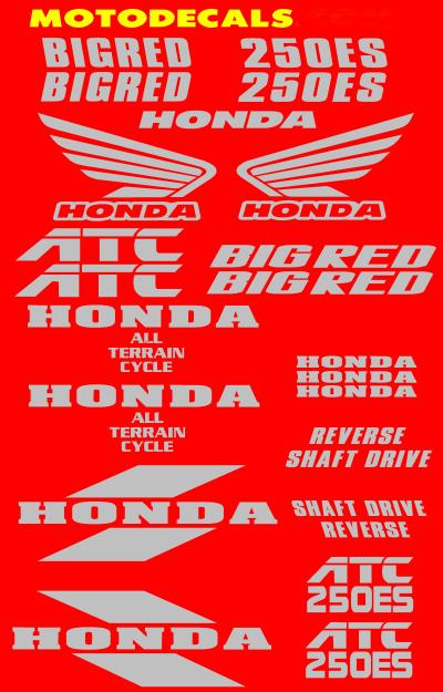 www motodecals com Sticker Kits Honda